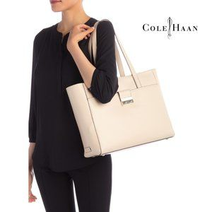 Cole Haan Sand Leather Tote Bag